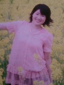 Sさんの義妹、雨宮知子さん (コンサート2014・01・11チラシより) Sさんご本人では、ありませんので・・・念のため