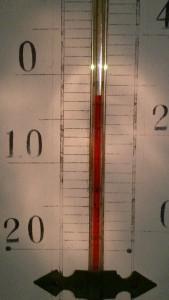 マイナス2℃は、おそらく今季最低。広島ー島根の県境越え、大丈夫かしらん。