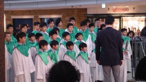広島少年合唱隊によるクリスマスコンサート(クレオ三階にて)