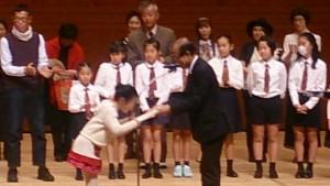 安塚かのんちゃんはスマイル賞を